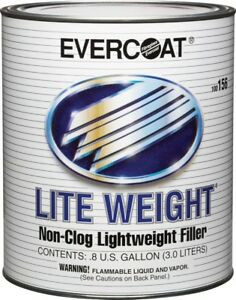 Evercoat 156 Lite Weight Liteweight Clog Free Auto Body Filler Gallon