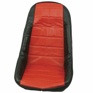 Empi 62 2611 Red Vinyl Low Back Bucket Seat Cover Dune Buggy Vw Baja Bug Each