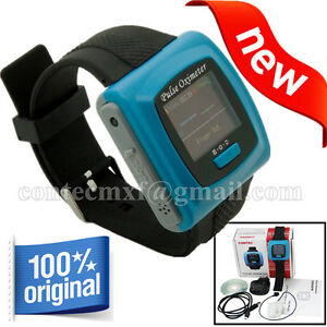 Usa Wrist Pulse Oximeter Spo2 Heart Rate Monitor Blood Oxygen 24 Hours Analysis