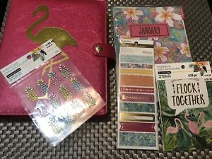 Recollections A5 Flamingo Planner Lot