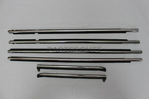 Toyota Land Cruiser Prado Lexus Gx470 Oem Quarter Door Belt Moulding Set 03 09