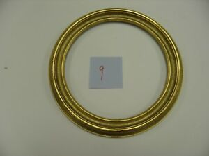 12 Round Picture Frames Antique Gold Lot Of 4 Free Shipping