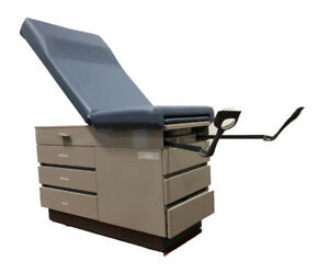 Midmark Ritter 104 Exam Table With Stirrups Blue 104 035 202 1