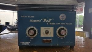 Cole Parmer Solid State Magnetic Hotplate Stirrer 9x9 Model 4817