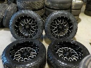 4 2015 Ford F250 F350 20 Alloy Wheels And Toyo Tires 2011 2016 Bb523p