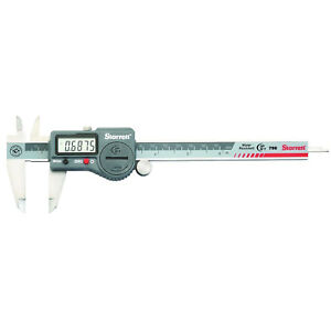 Digital Caliper Without Output In Fitted Plastic Case 0 6 Lot Of 1