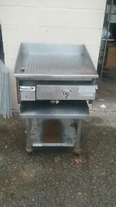 Miraclean Gas Griddle Char less Grill Ridged