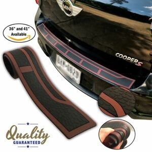 Us Inventory Flexible Rubber Trunk Door Entry Rear Bumper Guard 36 And 41