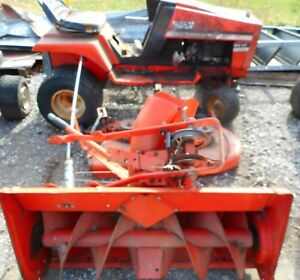 Vintage Allis Chalmers Garden Tractor Model 611lt For Restore Mower