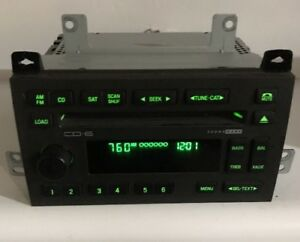 03 11 Lincoln Town Car Radio 6cd Player Soundmark Amfm Subwoofer Opt Oem Stereo