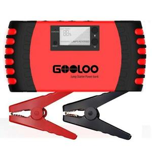 Gooloo 2000a Jump Starter Quick Charge 3 0 Auto Battery Booster Power Pack