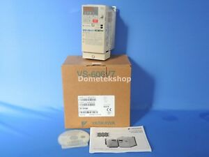 Yaskawa Cimr v7am20p4 Ac Drive 3 Ph 200 230vac 50 60hz 3 9a new W Manual