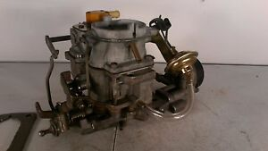 Amc Jeep Carter Bbd Carburetor 8103s