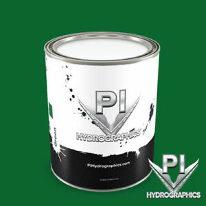Pi Hydrographic Green Water Based Paint Quart Hydro Dipping Paint