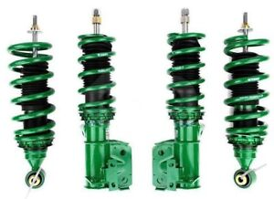 Tein Street Basis Z Coilovers For Civic Ek Sedan Coupe 96 00 Gsh98 8uss2