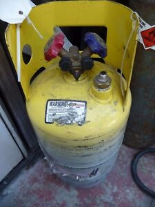 Manchester 22 Refrigerant Tank Referigerant Recovery Cylinder