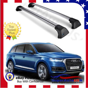 Top Roof Rack Fit For 2016 2018 Audi Q7 Baggage Luggage Cross Bar Crossbar Usa
