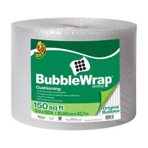 Duck Brand Original Bubble Wrap Cushioning Clear 12 In X 150 Ft
