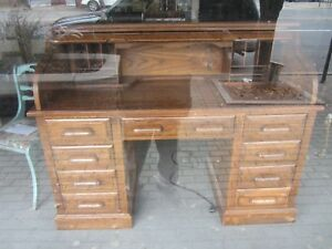 Oak Roll Top Desk 58 Wide Local Pick Up Only