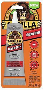 Gorilla Glue 8040002 10 Pack 3 Oz Clear Grip Contact Adhesive