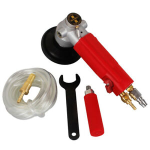 4 air Wet Polisher Wet Stone Grinder Pneumatic For Granite Marble Concrete Stone