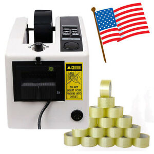 Us Ship Automatic Tape Dispensers Adhesive Cutter Cutting Packaging Machine