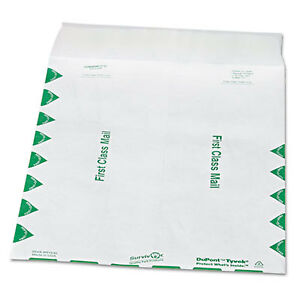 Tyvek Usps First Class Mailer 9 1 2 X 12 1 2 White 100 box R1530