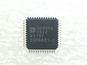 Ad9952ysvz Analog Devices Ic Dds 14bit Dac 1 8v 48 tqfp Rohs 20 Pieces