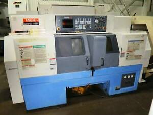 Mazak Multiplex 6100y Dual Head Cnc Turning Center New 2005 W 640t Cnc Control