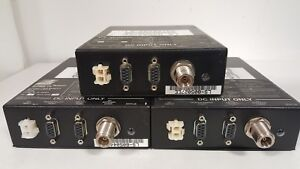 Metricom Radio Utilinet Series 2 900mhz Class B Rs232 N male 12vdc Lot Of 3