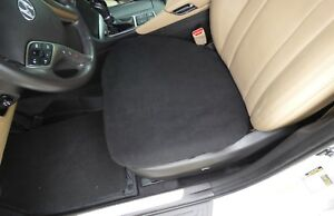 Fleece Bottom Seat Covers For Cars Trucks And Suv s One Size Fits All