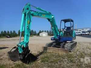2012 Ihi 55n3 Mini Excavator With Only 4318 Hours