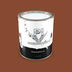 Pi Hydrographic Water Based Paint Pint Hydro Dipping Paint deep Copper