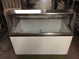 4 Ft Ice Cream Dip Cabinet Freezer Holds 8 Flavors 115v Kelvinator A
