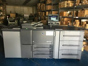 Konica Minolta Bizhub Press 1052 W Pf 703 Fs 532 Low Meter 623k Clicks