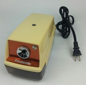 Panasonic Point o matic Electric Pencil Sharpener Kp 33 With Auto Stop