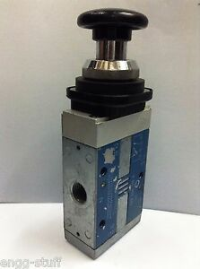 Rexroth Pneumatic 3 2 Palm Button Operated Pneumatic Valve 5634469100