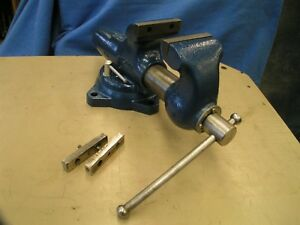 Wilton 450s 4 1 2 Bullet Swivel Bench Vise Usa Clamp Jaws Metal Fabrication