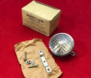 Vintage Nos Auto Safety Eye 3 Running Light Grille Mount Or Reverse Back Up