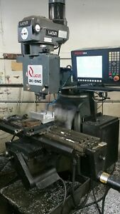 Heavy Duty Lagun Cnc Milling Machine 3 Axis With Anilam 3000m Control