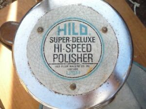 Hild Super Deluxe Hi speed Floor Polisher