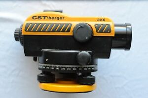 Cst berger 32x Automatic Level 32x Magnification Very Good Condition