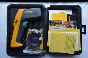 Fluke 561 Ir Non contact Thermometer With Accesories