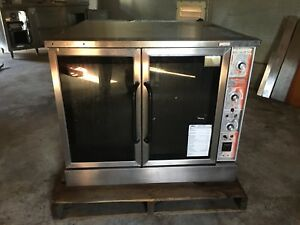 Market Forge power Saver Double Stack Convection Oven Electric As is can Ship