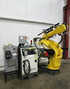 Fanuc 6 axis Heavy Duty Robot Control System Used Am15645