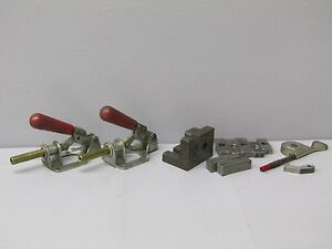 14 Lot starrett Speed Indicator machinist Fixture Tools parallels clamps Angle