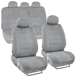 Soft Thick X large Car Seat Covers Front Rear For Trucks Van Suvs 9pc