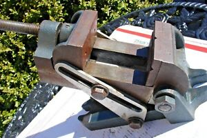 Vintage Machinist Tilting Swivel Angle Vise Mill Drill Press 2 1 2 In