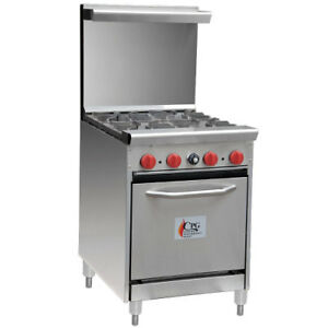 Cpg 24 4 Burner Gas Range