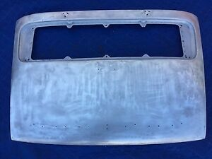Porsche 911 Original Factory Aluminum Decklid Engine Cover 911r Lightweight Lid